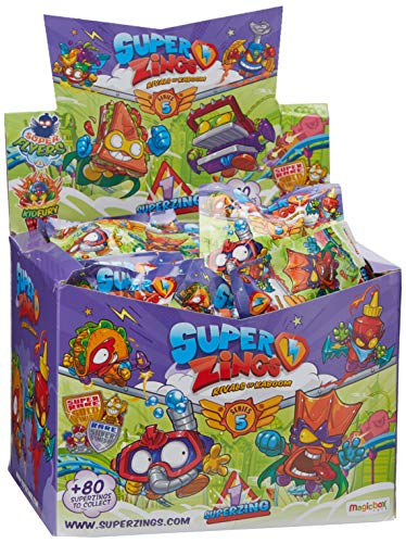 Superzings - Serie 5 - Display de 50 figuras coleccionables SuperZings