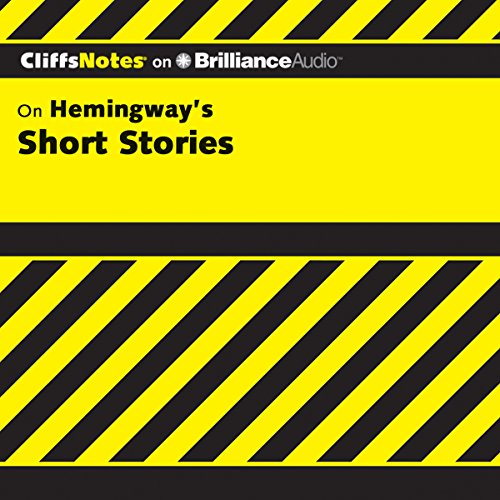 Hemingway's Short Stories: CliffsNotes cover art