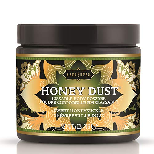 Kama Sutra Honey Dust Honeysuckle 200g by TreatHer & TreatHim