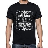 Premium Vintage Year 1971, Regalo cumpleaños Hombre, Camisetas Hombre cumpleaños, Vendimia Prima Camiseta Hombre, Camiseta Regalo, Regalo Hombre