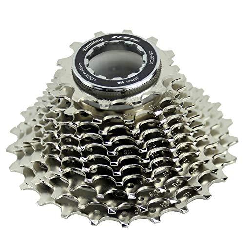 AJL 11 Speed ULTEGRA-CS-R8000 Index 11/12-25/28/30/32/34T Freewheel Block Screw On Cassette Cog, MTB Bicycle Part Freewheel Sprocket (Size : CS-R8000 11-32T)