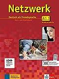 Netzwerk a1, libro del alumno y libro de ejercicios, parte 1 + cd + dvd: Kurs- und Arbeitsbuch A1 - Teil 1 mit 2 Audio-CDs und (ALL NIVEAU ADULTE TVA 5,5%)
