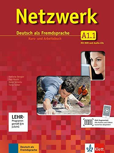 Netzwerk a1, libro del alumno y libro de ejercicios, parte 1 + cd + dvd (ALL NIVEAU ADULTE TVA 5,5%) (German Edition)