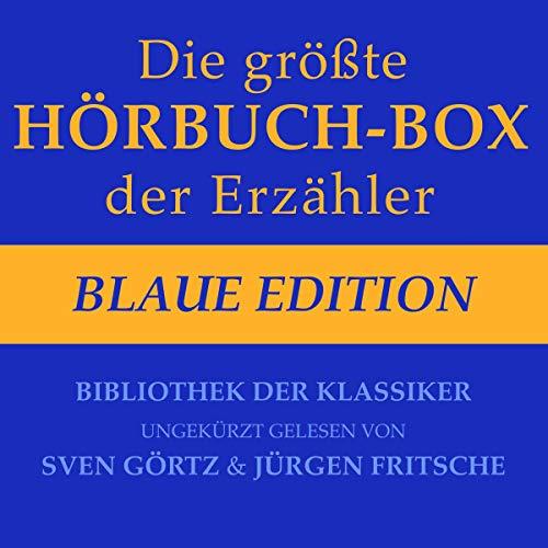 Die größte Hörbuch-Box der Erzähler - Blaue Edition Titelbild