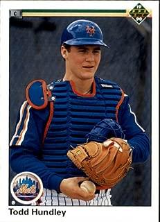 1990 Upper Deck Baseball Rookie Card #726 Todd Hundley