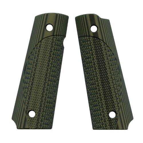VZ Grips ETC Full Size 1911 Gun Grip, Dirty Olive