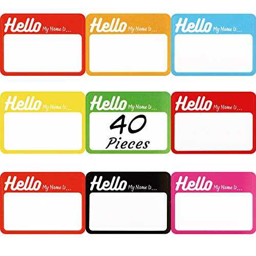 320 Stücke Hallo Mein Name ist Aufkleber Personalisierte Namensschild Aufkleber für Büro Konferenz Schule Lehrer und Postversand