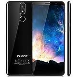 Cubot Power Android 8.1 4G-LTE Dual Sim Smartphone ohne Vertrag 5.99 Zoll (18:9) IPS FHD+ Touch Bildschirm mit 6000 mAh Akku, 6GB Ram+128GB interner Speicher, 20MP Hauptkamera / 13MP Frontkamera, Schwarz