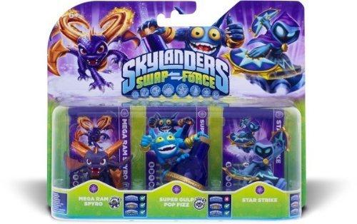 Activision Skylanders Swap Force Magic Triple Pack Spielzeug Hybrid