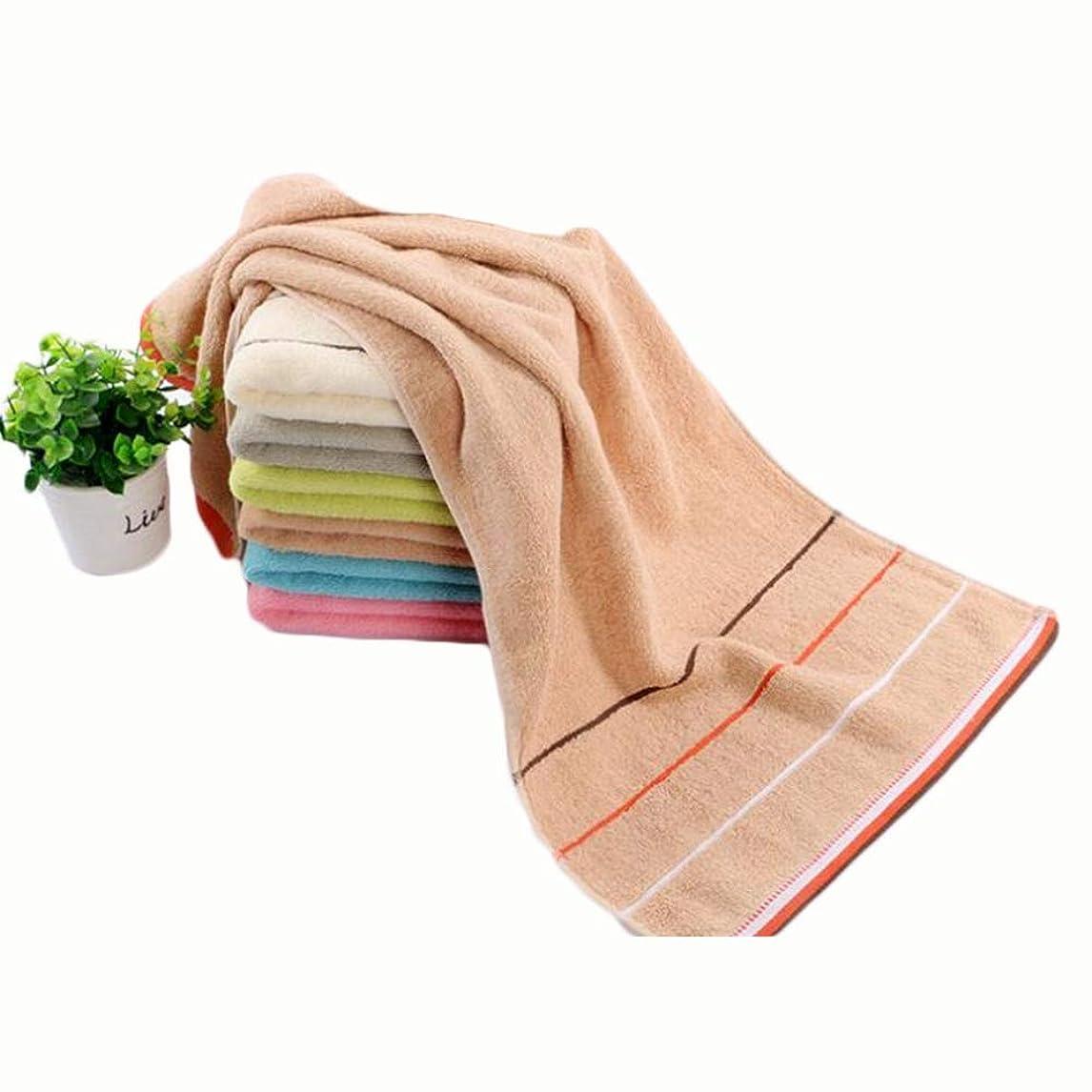 対処する恐れる時期尚早CXUNKK 2PCS / LOT家庭用綿厚吸収性洗顔タオルジャカードタオル (Color : 02)