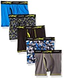 Hanes Boys' Active Cool X-Temp Boxer Brief 5-Pack, Assorted, Small