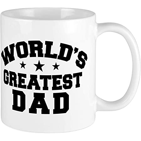 CafePress World's Greatest Dad Mug Unique Coffee Mug, Coffee Cup