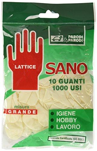 Parodi & Parodi 226 Gants multi-usages pour nettoyage 10 pièces, L
