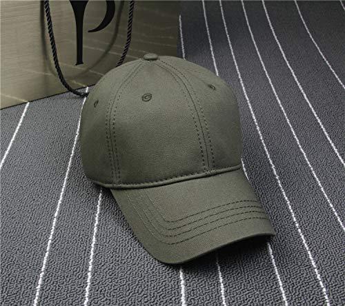 Gorra de béisbol de Felpa Tablero de luz Color sólido ala Curva versión Coreana de Gorras Personalizadas Pareja Hombres y Mujeres