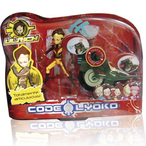 Código Lyoko - Figura Ulrich con Moto (Simba) 3089010