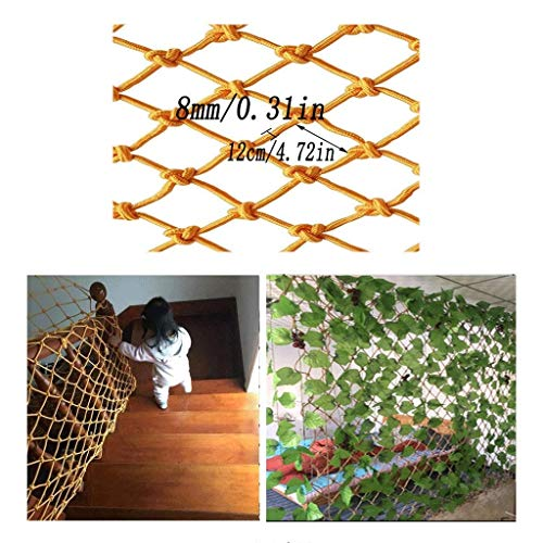 Great Deal! Zjnhl Home Protection net Child Safety Rail Net, Nylon Decorative Net Indoor Balcony Win...