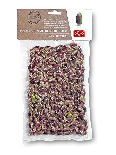 Pistacchio Verde di Bronte DOP Biologico Sgusciato al Naturale (Non Salato) in busta sottovuoto - 150 g