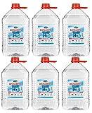 Vecaro Eau distillée 30 litres 6 bidons de 5 litres chacun