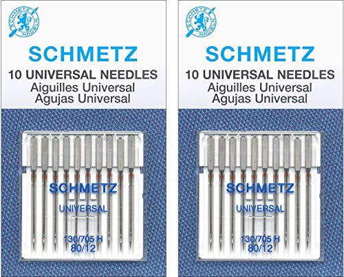 Review Of Schmetz Universal Needle Size 80/12 10pc (3 Pack)