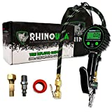 Best Digital Tire Gauges - Rhino USA Digital Tire Inflator with Pressure Gauge Review