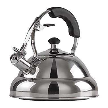 Chef's Secret KTTKC Surgical Stainless Steel Tea Kettle with Copper Capsule, 2.75 quart