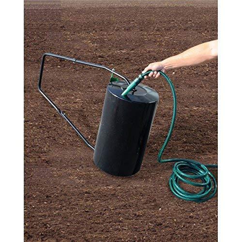 Walze Rasenwalze Handwalze Gartenwalze aus Metall, befüllbar - POW 63890