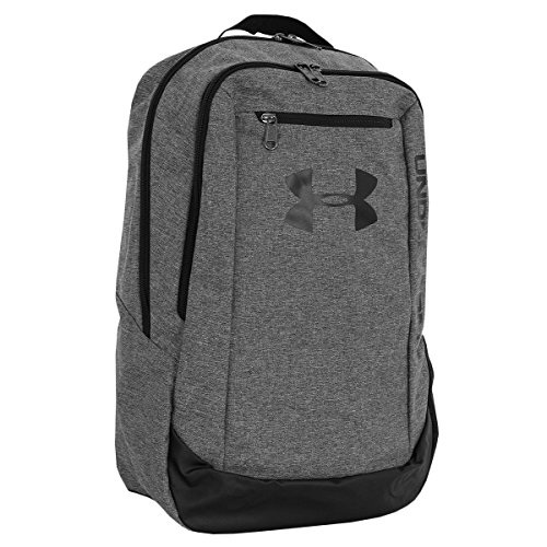 Under Armour Hustle LDWR Men's Backpack, Graphite / Graphite / Black (041), One Size