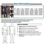 Combinaison pour homme Hip Hop Denim Salopette Mode Slim Fit Jumpsuit avec poches Dickies Combinaison une pièce - Noir - XXXXL-L #3