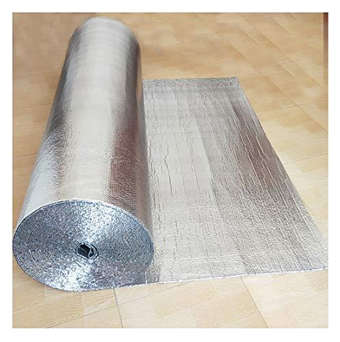 Aislamiento Termico Aluminio Reflexivo Multicapa d Autoadhesivo Rollo Aislante Térmico De Aluminio Aluminio Aislante con Burbujas Lámina Aislante Rollo Aislante Térmico para Techos Paredes Contadores
