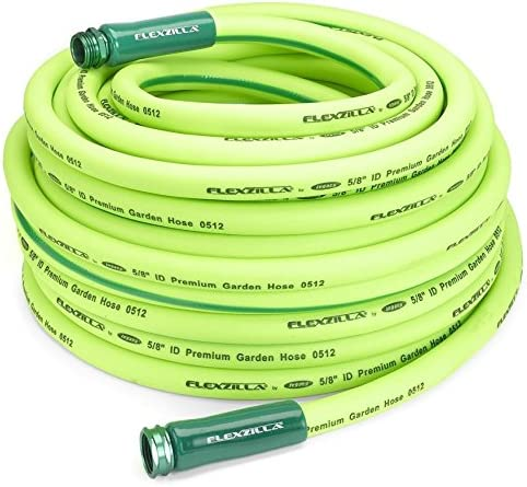 """2 Pack Legacy HFZG5100YW Flexzilla 5/8"""" X 100' Garden Hose Assembly with 3/4""""- 11-1/2"""" GHT Fittings"""