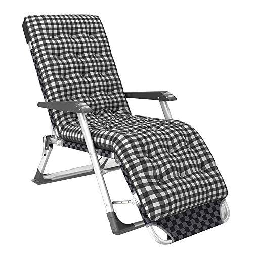 FUFU Sillas de patio reclinables de gravedad cero, silla reclinable para patio, silla de salón plegable al aire libre, soporte de 400 libras, para exteriores, camping, jardín, patio, césped, duradero