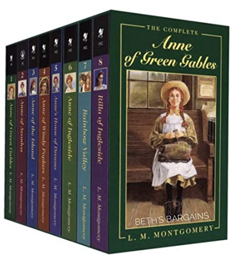 Anne of Green Gables, Complete 8-Book Box Set: Anne of Green Gables; Anne of the Island; Anne of Avonlea; Anne of Windy Poplar; Anne's House of ... ... of Ingleside by L.M. Montgomery (1998-10-06)