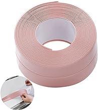 Waterdichte Tape,320 x 3,8cm Bad Sealant Tape(Roze),Douche Seal Strip,Raam Sealer Strip,Caulk Strip Sealing Tape,Wandafdic...