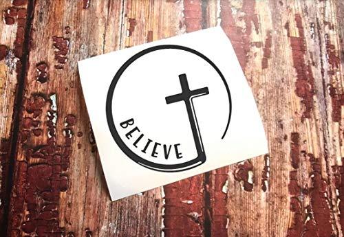 Just454on - Calcomanía cristiana con cita bíblica Salmo 4610, calcomanía de cita bíblica