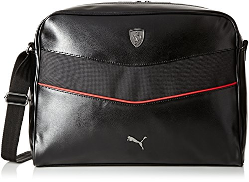 PUMA Ferrari Ls Umhängetasche, schwarz - Noir (Black) - Größe: Einheitsgröße