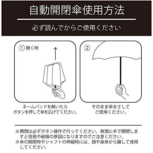 小川(Ogawa)折りたたみ傘レディース軽量220g55cm5本骨ワンタッチ自動開閉途中で飛び出さない安全装置付korkoコルコアップサイドダウンはっ水81288