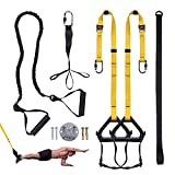 Clothink Schlingentrainer Sling Trainer Set mit Tranker Einstellbar Fitness Zuhause Suspension - geeignet fr unterwegs und fr das Training im Innen- und Auenbereich
