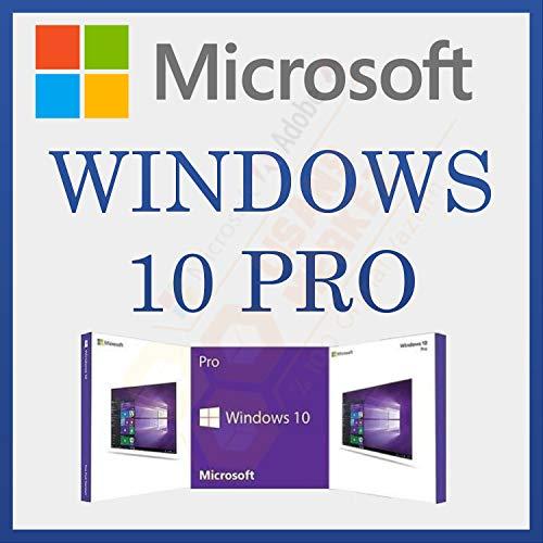 MS Windows 10 PRO | Lien Officiel | Avec Facture | Version complète, licence à vie initiale, code d'activation de la licence par courrier électronique et délai de livraison des messages de 6 heures