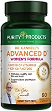 Dr. Cannell's Advanced Vitamin D Women's Formula - Purity Products - Fortified with Lutein and Biotin for Healthy Skin and...