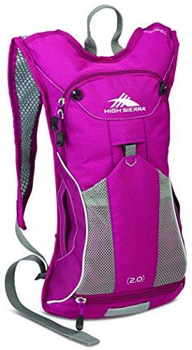 High Sierra Propel Hydration Pack, Boysenberry/Ash, 2-Liter