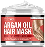 Argan Oil Hair Mask - Deep Conditioner for Dry Damaged...