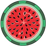 SIKOYA Watermelon Beach Blanket, Ultra Soft Super Water Absorbent Novelty Picnic Mat Beach Towel Perfect for The Beach, Pool, Lake and More, Machine Washable