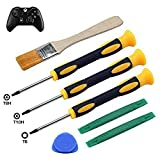 T8H T6 T10H Screwdriver Set for Xbox One Xbox 360 Controller and PS3 PS4, Safe Prying Tool and...