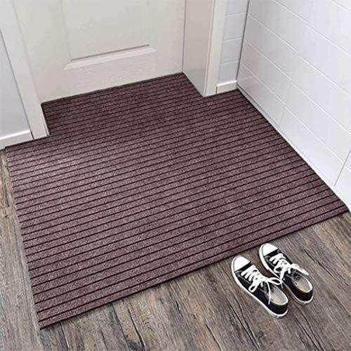 YAMMY Alfombrilla de Moda para Entrar en la Oficina Puerta de Seguridad Alfombrilla para el Suelo Puerta Exterior de la Cocina Entrada del hogar (Color: C, Tamaño: 40 * 60cm / Dos)