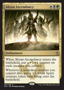 Magic The Gathering - Abzan Ascendancy (160/269) - Khans of Tarkir - Foil