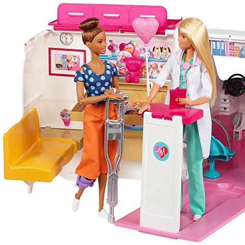 Ambulance de Secours Clinique Soins Médical Barbie - 6