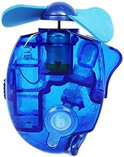JoyRolly Verano Mini Ventilador portátil con batería Ventilador de Mano de rociador de Agua (3 Colores) (Azul) Blue