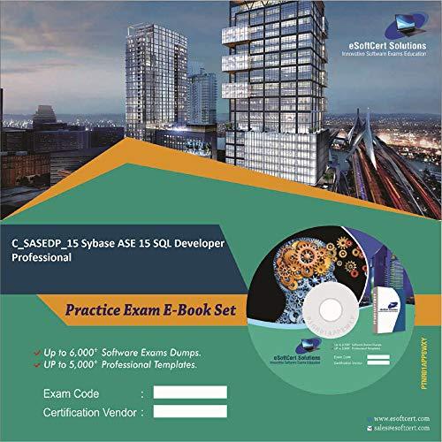C_SASEDP_15 Sybase ASE 15 SQL Developer Professional Exam Complete Video Learning Solution (DVD)