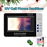UV Cell Phone Cleaner Sanitizer Sterilizer,Smartphone Sanitizer Sterilizer Cleaner,Cell Phone C…