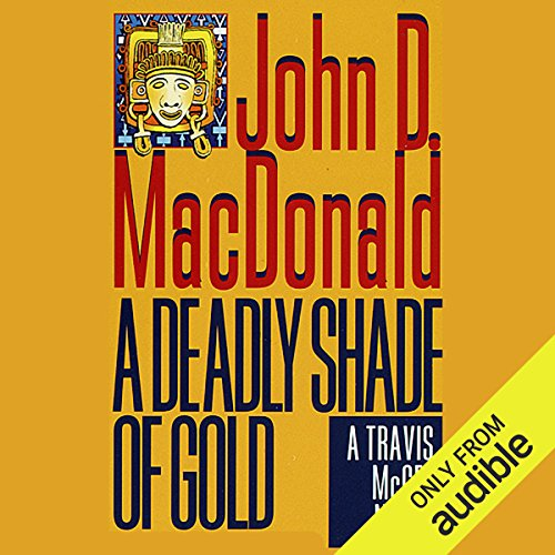 Couverture de A Deadly Shade of Gold